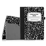 Fintie Folio Case for iPad 2 3 4 (Old Model) 9.7 inch Tablet - Slim Fit Smart Stand Protective Cover Auto Sleep/Wake for iPad 2, iPad 3rd gen & iPad 4th Generation Retina Display, Composition Book