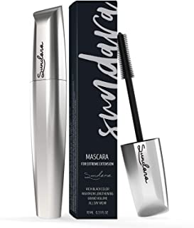 4D Eyelash Mascara, Silk Fiber Lash Mascara, Lengthening and Thick, Long Lasting, Black Mascara & Smudge-Proof, All Day Ex...