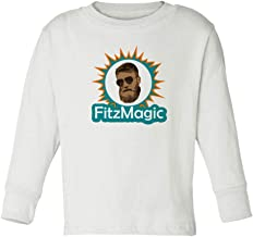 Baku Apparel Miami Fitzpatrick FitzMagic Little Kids Toddler Long Sleeve T-Shirt