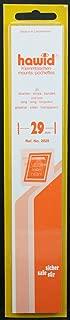25 210 x 29 mm Hawid sello tiras urémicos. Claro.