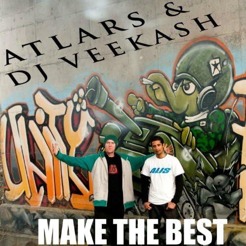 DJ Veekash, Atlars