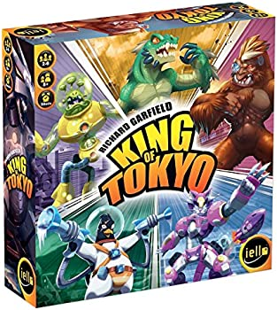 Lello King of Tokyo: New Edition Board Game