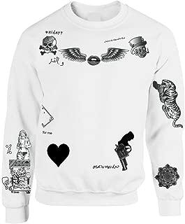 Allntrends Women's Sweatshirt 1D Zayn Malik Newest Tattoo