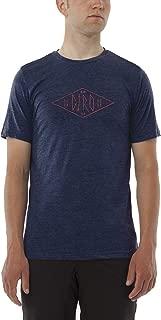 Giro 2017 Tech Tee Shirt (Navy Diamond Logo - XXL)