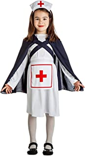 Disfraz de Enfermera Ejército IIGM para niña