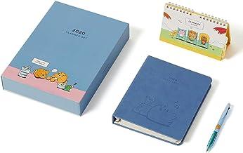KAKAO FRIENDS - 2020 Nieuwjaar januari tot december Desktop Kalender, Dagboek en Pen Set (Ryan, Koreaanse vakantie versie)