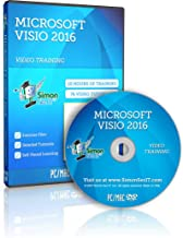 Visio 2016 Training Course For Beginners – Complete Self-Paced Learning Program For The Office Diagramming Software Application