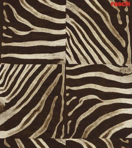 Rasch Tapete 715309 Vliestapete Muster Zebra