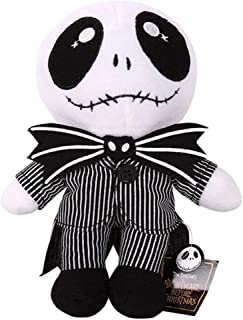 CheeseanU 25CM Nightmare Before Christmas Jack Skellington Plush Toys Doll Lovey Skull Jake Plush Stuffed Toys for Baby Children Kids Birthday Doll Gifts Halooween Party Accessory, 10