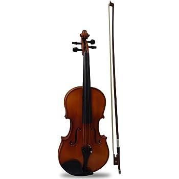 Hausenbag Violin Acústico DMI-V80SMA-4/4 Tapa de Abeto y Cuerpo de Maple Flameado, Acabado Brillante