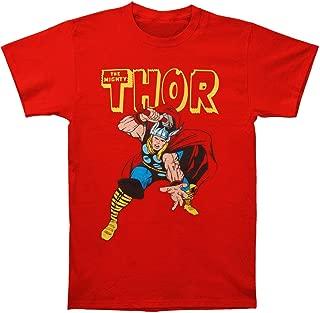 Marvel Thor Men's Classic Red Tee Shirt
