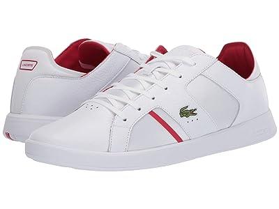 Lacoste Novas 120 1 (White/Red) Men