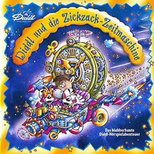 Diddl: Diddl und die Zickzack-Zeitmaschine Titelbild