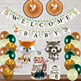 Woodland Creatures Baby Shower Decorations...