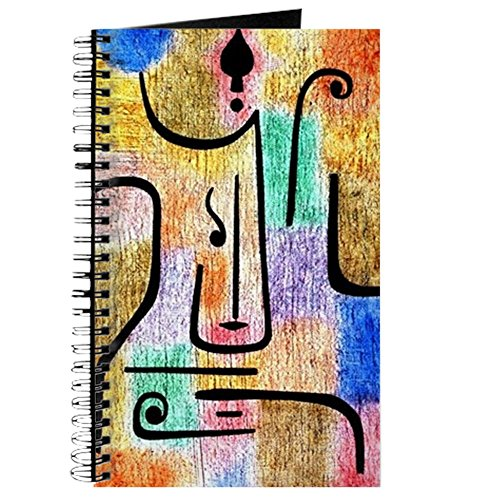 CafePress – Klee – Erzengel, A Paul Klee Malerei – Spiralbindung Journal Notebook,...