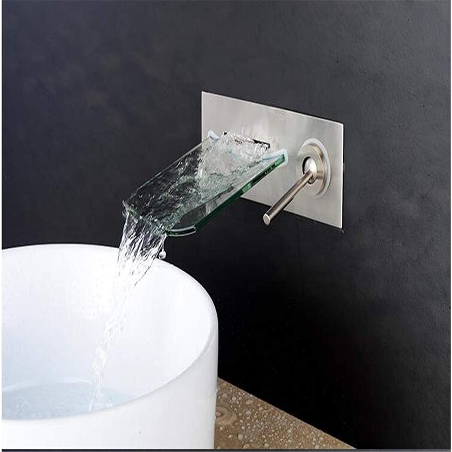 Retro Hot and Cold Faucet Retrobathtub Shower Faucets Faucet Waterfall Wall Shower Mixer Bathroom Bath Tap