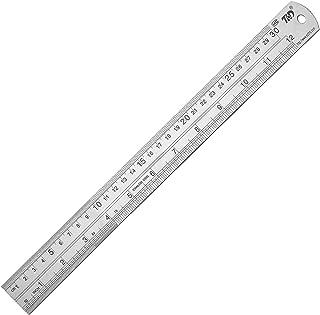 Ruler Metal Straight Edge Ruler Stainless Steel Ruler 12 Inch Ruler Set Rulers Bulk 1 Pack