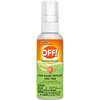OFF! Botanicals Mosquito and Insect Repellent IV, Plant-Based* Bug Spray, Deet-Free**, 4 oz.