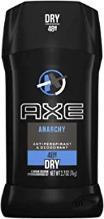 Axe Dry Antiperspirant Deodorant Stick, Anarchy, 2.7 Ounce (Pack of 4)