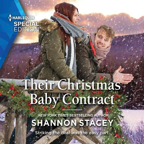 Their Christmas Baby Contract cover art