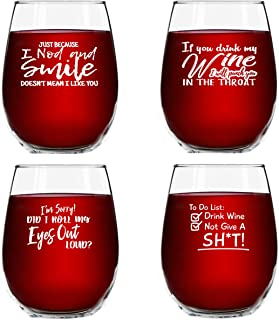 Best wine glass set of 4 Reviews