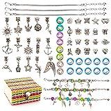 Kit De Fabrication De Bijoux Pour Enfants Fille, Cadeau d'An