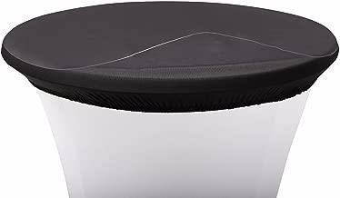 Babat Schutzplatte f/ür Stehtische Durchmesser 58cm Stehtischhussen Abdeckplatte aus Kunststoff PVC