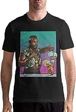 Mens Mr T Drinking Iced Tea Ice Cube Particular Short Sleeve Top Shirt