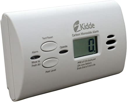 Kidde Battery-Operated Carbon Monoxide Alarm with Digital Dis