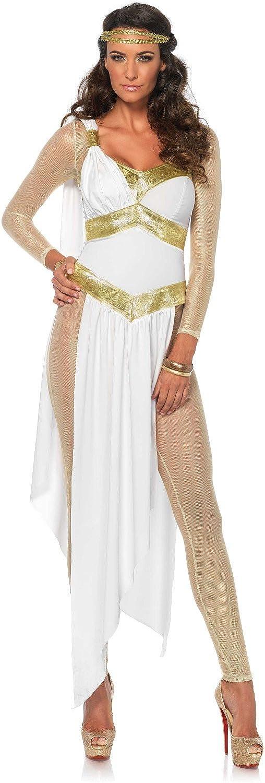 comprar barato Leg Avenue Avenue Avenue 85578oroen diosa disfraz (tamaño mediano, UK 10 12, 3piezas)  100% precio garantizado
