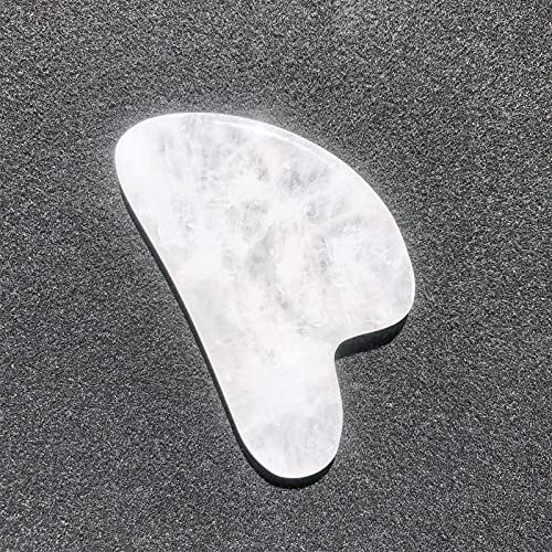 GHJGHJ Cristales Naturales de Cuarzo Rose Claro Verde Aventurina Scrapling Placa Energía Piedras Aquarium Decoración Accesorios Piedra preciose (Color : Clear Quartz, Size : 1pc)
