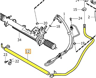 Power Steering Return Hose General Motors 15137987