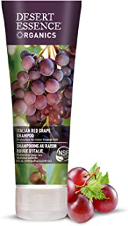 Desert Essence Organics Italian Red Grape Shampoo - 8 Fl Oz - Protection For Color Treated Hair - Antioxidants - Healthier...