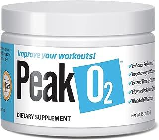 PeakO2® Mushroom Endurance Blend (Boost Oxygen Levels, Increase Strength & Endurance) (50 Servings) (Organic Mushroom Blend)