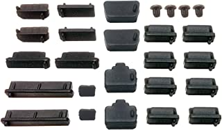 monofive パソコン デジタル家電用 各種コネクタ防塵・保護カバーキャップ 26個 MF-CAP9-26B