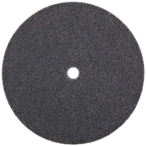 3M Scotch-Brite XL-UW Unitized Silicon Carbide Soft Deburring Wheel - Fine Grade - Arbor Attachment - 6 in Dia 1/2 in Center Hole - Thickness 1/2 in - 5000 Max RPM - 13719 [PRICE is per WHEEL]