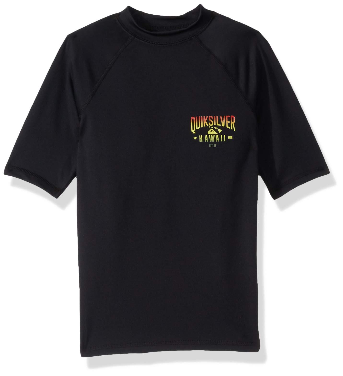 QUIKSILVER Boys Big Kona Way Short Sleeve Youth UPF 50 Sun Protection