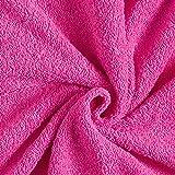 Frotteestoff – pink — Meterware ab 0,5m — STANDARD