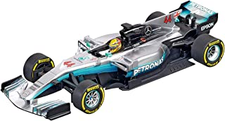 Carrera 20027574 27574 Mercedes-Benz F1 W08 L. Hamilton No.44 1: 32 Scale Analog Evolution Slot Car Racing Vehicle, Gray
