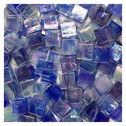 SKVVIDY Teselas 50 unids Multicolor Mosaico azulejo Cuadrado cerámico Mosaico Azulejos de Mosaico DIY Artes de artesanía Haciendo Material Mosaico Ceramica (Color : 1)