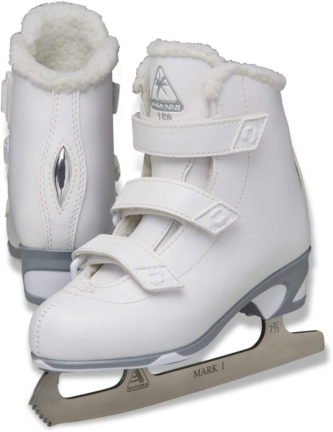 Jackson Ultima 正規逆輸入品 Finesse Girls Figure Skate 手数料無料 Velcro