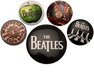 beatles buttons and pins