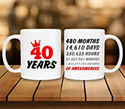 Happy 40th Birthday Mug- The perfect Celebration Mug