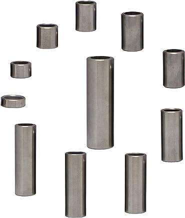 4 St/ück FASTON Aluminium Distanzh/ülsen M10 /Ø innen 10.5 mm H/ülsen Abstandsh/ülsen Buchse Distanzbuchsen Abstandsbuchsen Schildhalter /Ø Au/ßen 20 mm L/änge 10 mm