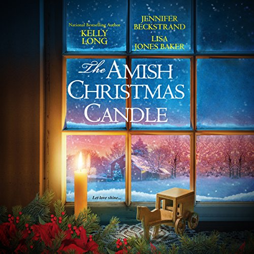 The Amish Christmas Candle audiobook cover art