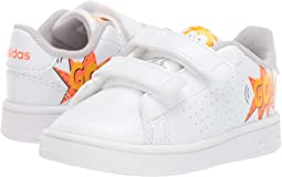 Footwear White/Footwear White/Orange