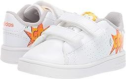 Footwear White/Footwear White/Orange