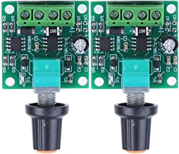 2pcs Speed Controller, Mini DC Motor PWM Speed Controller, Adjustable Reliable 1.8V Durable for Household Electrical Equip...