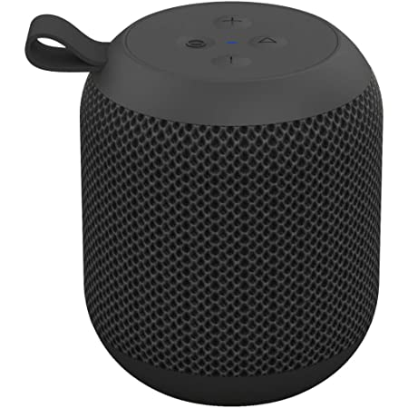 FIODIO Portable Bluetooth Speakers, Outdoor Wireless Mini IPX6 Waterproof Shower Travel Speaker with 5W Driver, Built-in Microphone, 360 HD Surround Sound Wireless Speaker for Sports, Beach, Camping