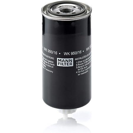Original Mann Filter Kraftstofffilter Wk 950 16 X Kraftstofffilter Satz Mit Dichtung Dichtungssatz Für Nutzfahrzeug Auto